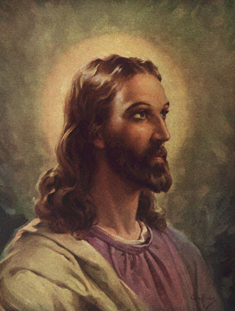 The only time you will ever see an image of Jesus on this blog