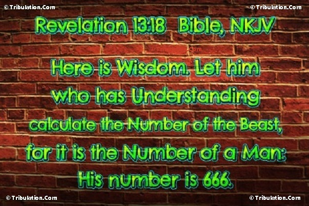 Mark of the Beast - Great Tribulation - Last 1/2 of 7-Year Tribulation Period