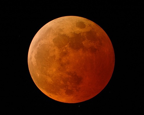 Blood Moon - Credit: NASA