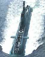 "Israeli Nuclear Missile-capable ""Dolphin"" Class Diesel/Electric Attack Submarine (Popeye Turbo variant SLCM platform)"