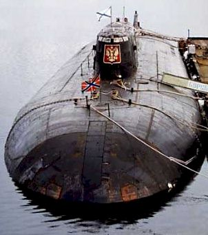 "Russian ""Oscar II"" Class Nuclear/Electric SSGN-type Submarine"