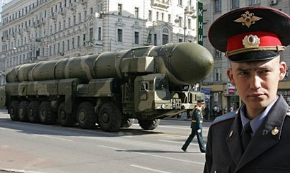 Russia's Nuclear Missiles in May Day Parade