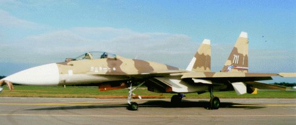 "Russian Sukhoi Su-37B ""Flanker"" Advanced Interceptor / Fighter"