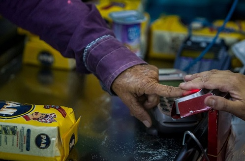 Fingerprint ID required to buy certain food in Venezuela - Precursor to Revelation chapter 13?